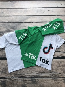 Duo Tik Tok - t-shirt z kapturem